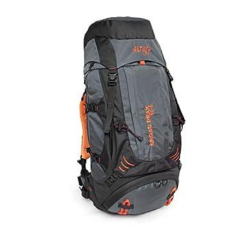 ALTUS Broad Peak 50+5 - Mochila, Unisex, Color Gris/Negro, Talla única: Amazon.es: Deportes y aire libre