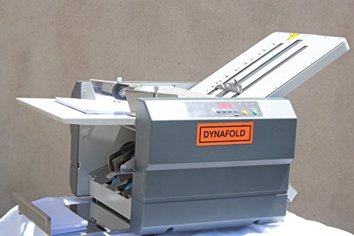 Dynafold DE-42FC Center Feed Paper Folder Folding Machine, Folds up to 11 x 17 in, Paper Size Max. 11'' x 17'' / Min. 3.5'' x 5'', Paper Weight Up to 110/M Ex, Glossy, Folding Speed 15,000 pcs / hr by Dynafold