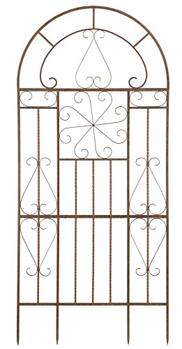 Wrought Iron Trellis - Deer Park Ironworks Kaleidoscope Trellis, Large