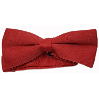 Men's Formal Red Bow-Tie for a Tuxedo