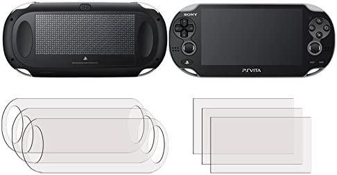 Membrane 3 x Protector de Pantalla compatibles con Sony Playstation PS Vita Slim Touchpad (PCH-2000-Serie) - [3 x Delantero + 3 x Trasero]