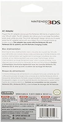 Nintendo 3DS/3DS XL/2DS AC Adapter