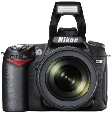 Nikon D90 - Cámara Réflex Digital 12.9 MP (Objetivo AF-S DX Nikkor ...