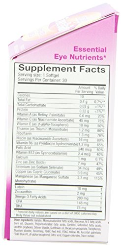 SYSTANE ICAPS Eye Vitamin & Mineral Supplement, Vision Health Formula, 30 Softgels