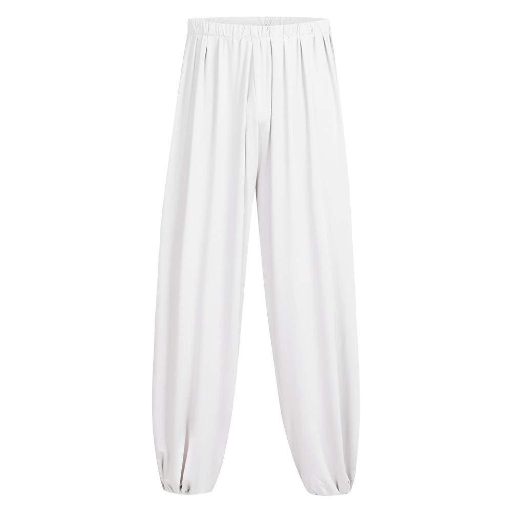 LISTHA Dance Harem Pants Men Loose Casual Sweatpants Yoga Sports Soft Trouser