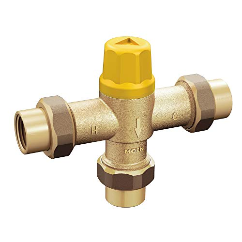 Moen 104451 Commercial Thermostatic Mixing Valve, Chrome ()