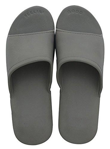 Slip Gris Sole Pantoufles Douche Mousses Piscine slip Lily Sandales Salle Plage Chaussures Bain Adulte Diapositive Maison On De Pour Mule Pensez Heureux Non OBnf5qxnt