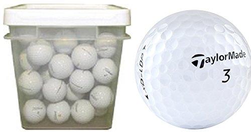 Taylormade-50-Ball-Bucket-Mix-Used-Golf-Balls-White