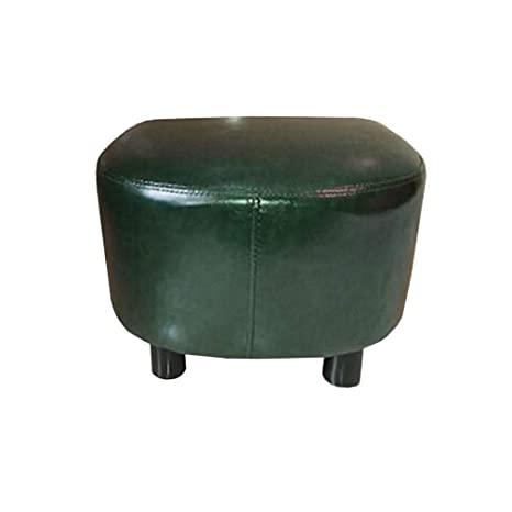 Marvelous Amazon Com Ycsd Upholstered Ottoman Leather Footstool Small Gmtry Best Dining Table And Chair Ideas Images Gmtryco