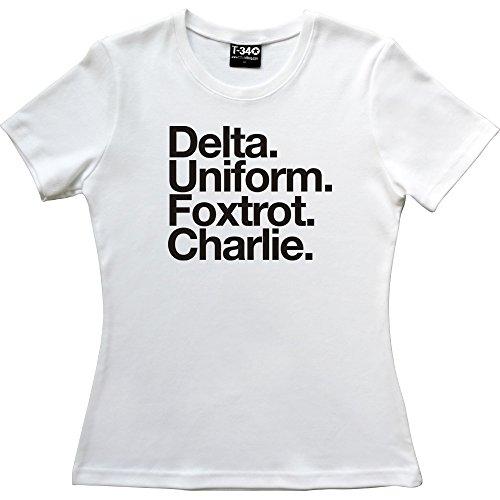 T34 - Camiseta - Mujer White Women's T-Shirt