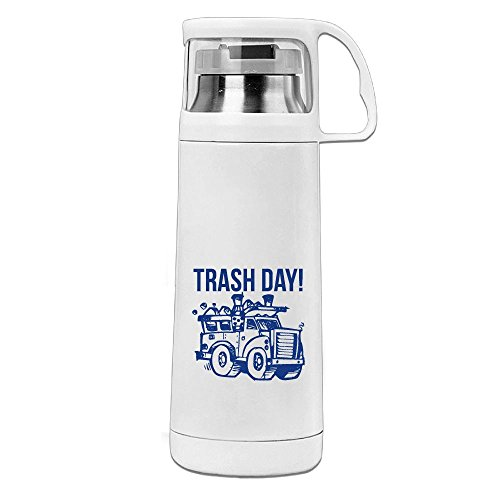 Kkajjhd Trash Day Vacuum Insulated Stainless Steel Water Bottle