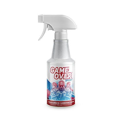 Biotech Odor Eliminator Spray – 500 ml – for Smelly Feet, Shoes, Clothes, Sport Equipment and Carpets by Game Over Sport
