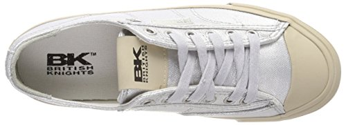 Donna silver Chase Knights British Sneaker 04 Argento wqCtgPX
