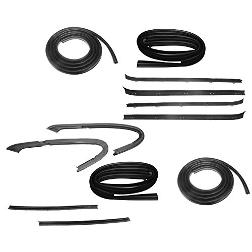 - Door & Window Sweep Weatherstrip Seals Kit Set for GMC Chevy 1500 Pickup Truck