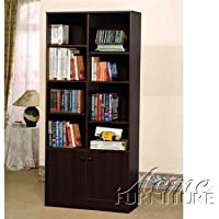ACME Verden Espresso Bookcase