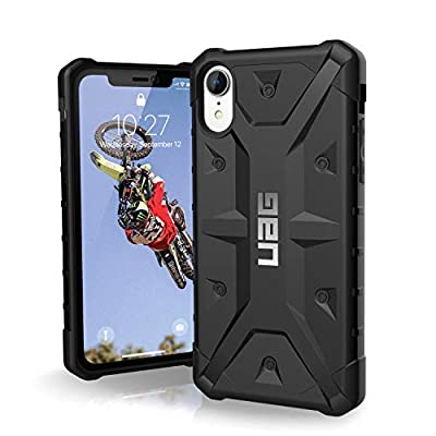 Urban Armor Gear Pathfinder per Apple iPhone XR Custodia Protettiva Cover con Standard Militare Americano Case – Nero [Compatibile con Il Qi Wireless, Angoli rinforzati] – 111097114040