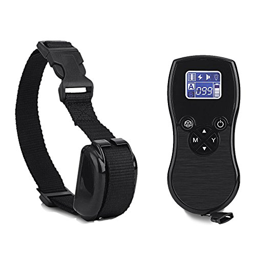 ZeeHoo-Dog-Training-Collar-875-Yards-Range-Remote-Controlled-Dog-Electric-shock-Collar-with-BeepVibrationShock-Electric-Rechargeable-and-Waterproof-All-Size-Dogs-10Lbs-100Lbs