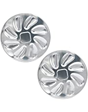 2 Pack Stainless Steel Oyster Plate for Oysters