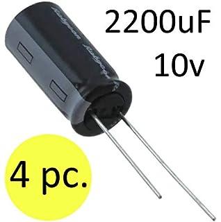 4pc Panasonic FC Electrolytic Capacitor 1200uf 10v 105C