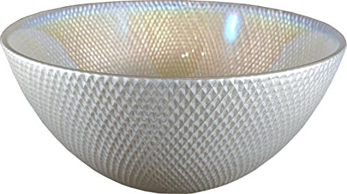 - Circleware 03120 Radiance Glass Serving Mixing Fruit Bowl, Glassware for Salad Punch, Beverage, Ice Cream, Dessert, Food and Best Selling Home & Kitchen Decor Gifts, 10