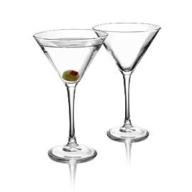 ARC International Luminarc Cachet Martini Glass, 10-Ounce, Set of 4 21 Four Martinis Soda Ash Glass Lead Free Glass