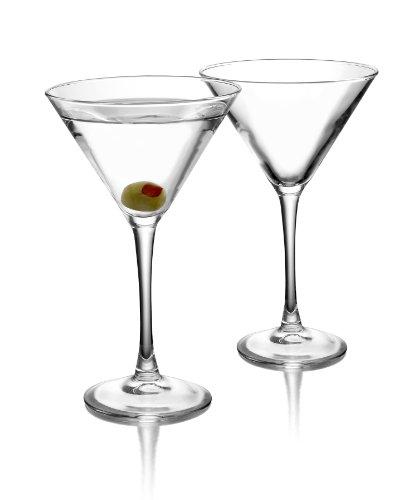 ARC International Luminarc Cachet Martini Glass, 10-Ounce, Set of 4 1 Four Martinis Soda Ash Glass Lead Free Glass