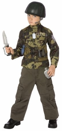 Army Costumes Ideas (Time AD Inc. Army Ranger Child Costume Kit)