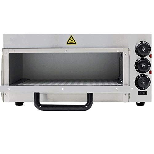 JIAWANSHUN Commercial Electric Pizza Oven With Timer for Making Bread Cake and Pizza 110V 2KW by JIAWANSHUN (Image #1)