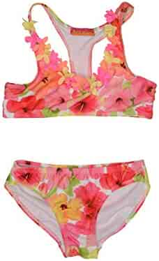 Kate Mack Girls' Paradise Island Bikini Swimsuit