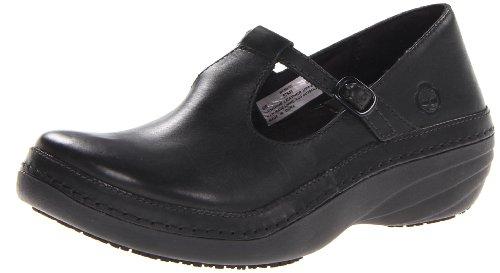 Timberland PRO Women's Renova Clog,Black,9.5 W US