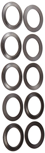 Wheels Manufacturing BB 24mm Spindle Shim Spacers (10-Pack), 1.0mm (Crank Shim)