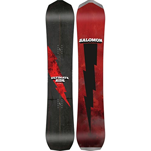 Salomon Snowboards Ultimate Ride Snowboard One Color, 161cm (Freestyle Bases Salomon)