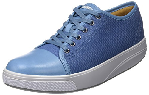 MBT Baskets Jambo Blue Canvas Bleu Denim Femme 7 W Hw4WqRrHv