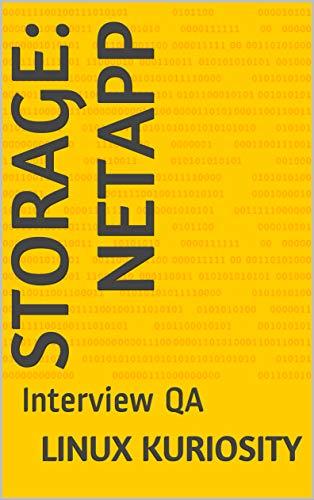 - Storage: NetApp: Interview QA
