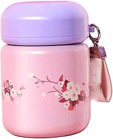 子供の断熱ランチボックス絶妙な断熱バケット煮ビーカー安全で信頼性の高いステンレス鋼食器の女の子と赤ちゃん800 ml