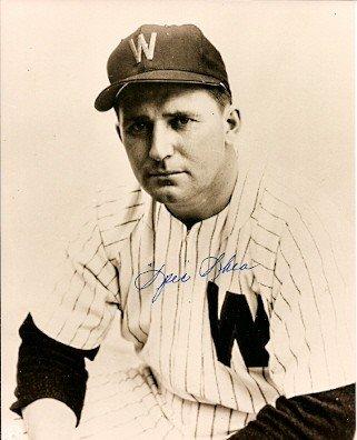 Washington Senators Baseball Photo - Signed 8x10 Photo Spec Shea Washington Senators - Autographed Baseball Photos