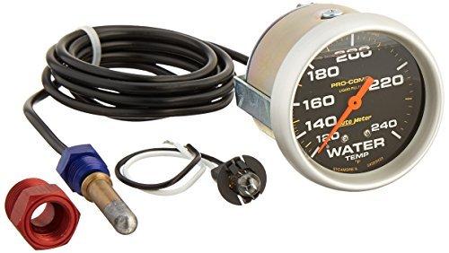 - Auto Meter 5432 Mechanical Liquid Water Temperature Gauge by Auto Meter