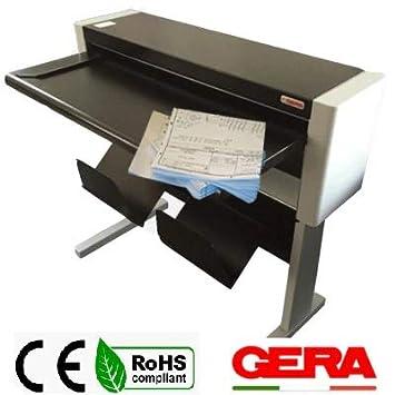 Plegadora de papel A0 A1 A2 A3. Gerafold 212 base .Instalación ...