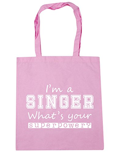 Gym Your Tote I'm Pink What's Singer Classic Beach x38cm 42cm Superpower litres a Bag HippoWarehouse 10 Shopping wf8qYxII