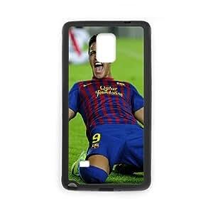 Samsung Galaxy Note 4 Cell Phone Case Black FC Barcelona Alexis Sanchez JNR2117447