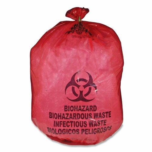 Unimed-Midwest Red Biohazard Waste Bag by Unimed-Midwest