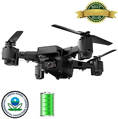 YIQIFEI Drone con cámara para Adultos GPS FPV Drone Plegable 1080P ...