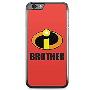 Loud Universe Brother Gift iPhone 6 Case Incredibles iPhone 6 Cover with Transparent Edges