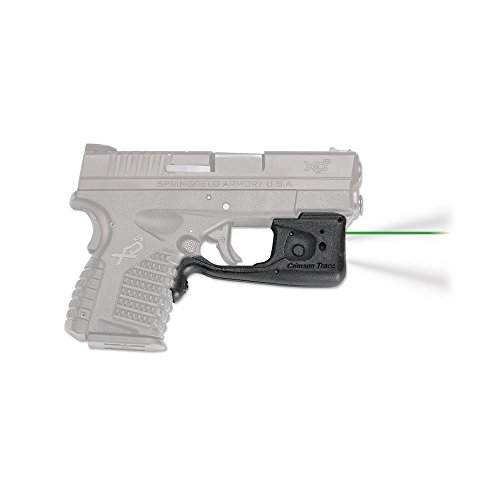 Crimson Trace LL-802G Laserguard Pro, Springfield XD-S, Green, Boxed