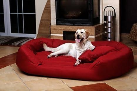 tierlando S5-04 SAMMY Extra ROBUSTO Sofá para perro Cama para perro Talla XXL 140cm Bordeaux: Amazon.es: Productos para mascotas