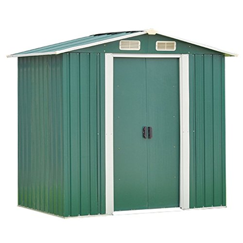 Nexttechnology Shed Garden Shed Small Outdoor Storage Shed (8x8 ft, - Sheds Storage Small Outdoor
