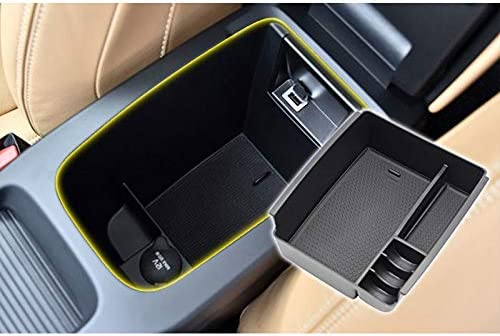 BAROZN Auto-Frontt/üren Innen Container Armlehne Aufbewahrungsbox Auto Zubeh/ör for Volvo V40 2013-2017 Auto aufbewahrungsbox