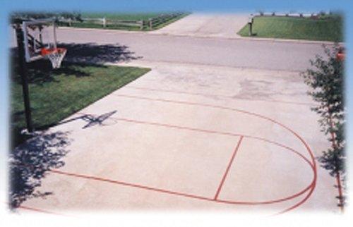 First Team Basketball Court Stencil Kit - First Team Basketball Goal