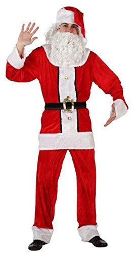 Atosa - Disfraz Papa Noel Adulto, t.3: Amazon.es: Juguetes y ...