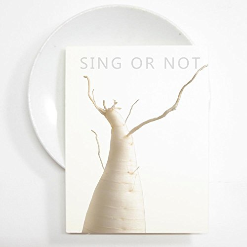 Original Wall Art, Photo Print 16x21cm Photography of White Radish Singer, To Be or Not To Be in the - Nyc Popular Stores In
